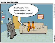 An Engineer's Aspect: Mean Psychology (A Statistics Cartoon) - Cartoon Thursday