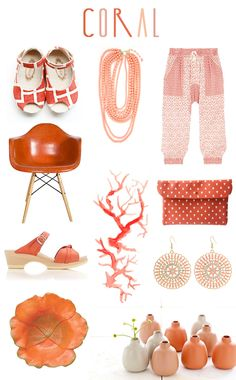 *Coral* strikes again! This time on @Justina Blakeney's blog! #ColoroftheMonth #DesignHappens #PinPantone