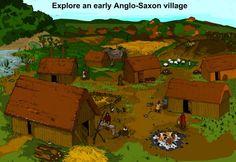 Explore an Anglo-Saxon Village