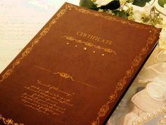ジュレ ~Jurer~人前結婚式結婚証明書(証人サイン用紙付き) 【ウェディング 誓約書】【楽天市場】
