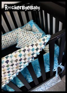 The absolute cutest baby bedding. Love love love all of their stuff