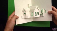 "Pop Up "" Home Sweet Home "" Card #1 Tutorial - Origamic Architecture"