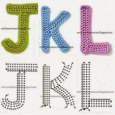 15 Easy to Make Crochet Letter Patterns - Patterns Hub | 236x236