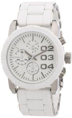 Diesel Herren-Armbanduhr XL FRANCHISE 42 Chronograph Quarz Silikon DZ5306