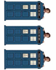 David Tennant Peeking Time Lord Bookmark--10th Day of Doctor Who!