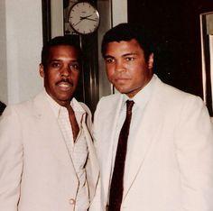 Muhammad Ali and Harold Bell