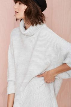 Nasty Gal Adrianne Sweater Dress | Shop Dresses at Nasty Gal