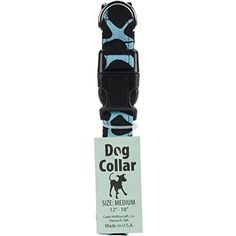 """Cape Hobbycraft 12 x 18 x 1"""" Spot Dog Collar with Welded D-Ring Buckle-Neck, Medium, Teal ~~ You can continue to the product at the image link. (This is an affiliate link and I receive a commission for the sales)"""