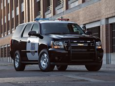 Police Chevy Tahoe