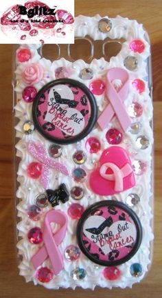 Breast Cancer Samsung Galaxy S 3 Phone Case. $34.99, via Etsy.