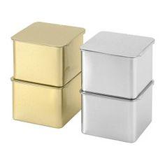 HEMSMAK Tin with lid - IKEA