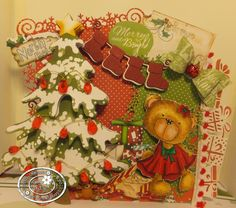 Polka Doodles Work & Play 5 - Festive Hollibobs  http://www.polkadoodles.co.uk/product_info.php?products_id=6857  Senior DT: Susan Imeson