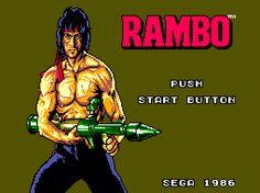 RAMBO: FIRST BLOOD PART II #gaming #rambo #movie #sega #80s