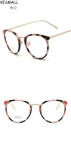 Fashion optical glasses frame women light tr90 eyeglasses frames flower  print lady oversized glasses frame oculos de grau yj210 d46519259e
