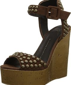 Giuseppe Zanotti Women's E50254 Brown Sandal  #Fashion