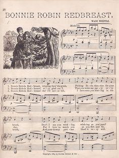 Free Vintage Sheet Music Printables