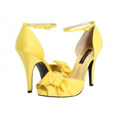 $99 Nina Electra Canary Yellow Shoes. O. M. G. I need these