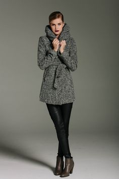 Hello coziness. Another coat perfect for fall to winter transition via @Mad About Style Boutique