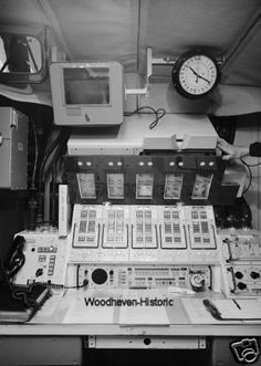 This was the launch console that the missile combat crews would initiate a nuclear strike at once they received Emergency War Orders from SAC.