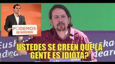 Pablo Iglesias en Barakaldo: ustedes se creen que la gente es idiota?