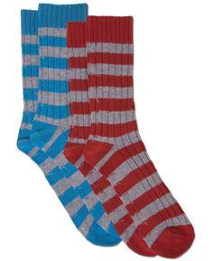 NEW! Striped Right Organic Socks $12.00