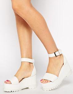 Aumentar Zapatos con plataforma plana HECTIC de ASOS