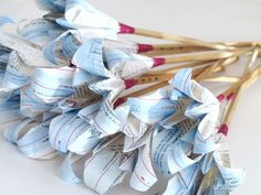 Origami Paper Lily - Custom made to order