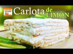 Carlota de limón - Cocina Vegan Fácil - YouTube