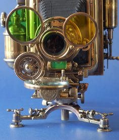 Steampunk Style Camera by Yura Surgan Maybe something for https://Addgeeks.com ?