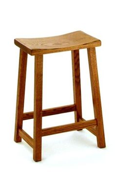 Amish Dutch Backless Barstool #MadeinUSA #MadeinAmerica via BuyDirectUSA.com $119.00