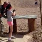 """The four children of an Arizona firearms instructor who was killed by a 9-year-old New Jersey girl said in a video statement they are worried for her and """"wish her peace."""""""