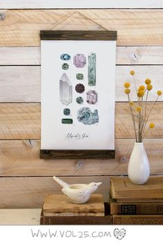 MINI MINERALS & GEMS VOL. 2  ---------------------------  Minerals & Gems Vol.2 is perfect for the gem collector, or jewelry designer. FINISHED MINI SIZE