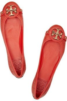 Tory Burch red ballet flats. Love