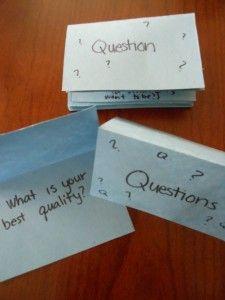 Letter Q ~ Questions
