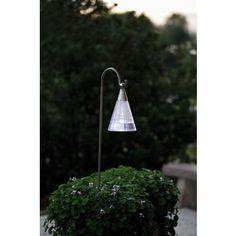 KONSTSMIDE Assisi Solar LED Kegel hängend