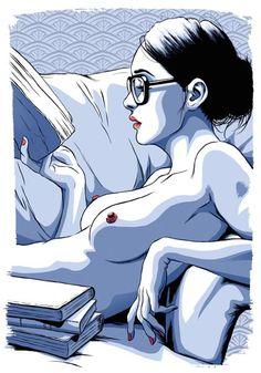 pinterest.com/fra411 #illustration - Joel Benjamin Illustration - Gurls