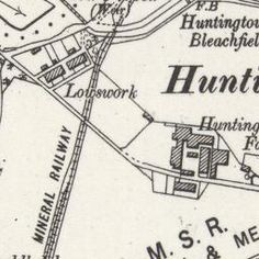 Huntingtower Ordnance Survey Six-inch 1930