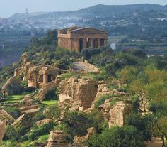 Valley of the Temples - Agrigento, Sicily ...  #agrigento #sicilia #sicily
