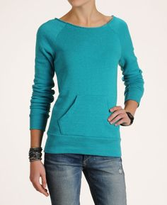 Alternative Apparel Women's Dance Sweatshirt - Coral