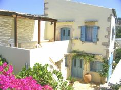 Chania House rental: The old wine press house Wine Press, Village Houses, Double Bedroom, Crete, Second Floor, Terrace, Restoration, Pergola, Old Things