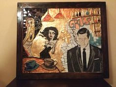 See 1 tip from 3 visitors to Gru's Caffe. New Art, Four Square, Coffee Shop, Painting, Coffee Shops, Coffeehouse, Painting Art, Paintings, Painted Canvas