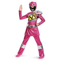 pink  Ranger  dino  charge  deluxe  costume  medium  7  8