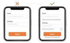Neglect of Probability - Make sure to remove uncertainties in your product Website Design Layout, Web Design Tips, Ui Ux Design, Interface Design, Your Design, Ui Design Principles, Software, Ui Design Inspiration, Dashboard Design
