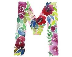 Cute Wallpapers First Initial Letter A Watercolor Alphabet Letter F Print Initial F Watercolor