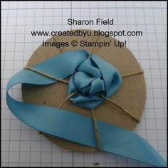 Ribbon-Rosette-Tutorial Source by iQuill Created By You: Super Saturday Tutorial: Lovely Ribbon Rosettes rosette - no glues or sticky papers! Ribbon flowers using an easy technique rosette Stampin' Up! Ribbon Rosettes, Ribbon Art, Fabric Ribbon, Ribbon Crafts, Flower Crafts, Fabric Crafts, Satin Ribbon Roses, Ribbons, Felt Flowers