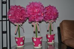 Centerpieces for Bridal Shower