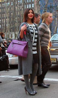 cyclamen kelly Kelly Bag, Hermes Birkin, Hermes Kelly, Autumn Fashion, Purple, Bags, Color, Style, Handbags