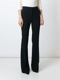 Alexander McQueen slim fit bootcut trousers