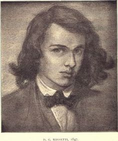 Dante Gabriel Rossetti OMG -- I  didn't know they made them that handsome in the 1800s!