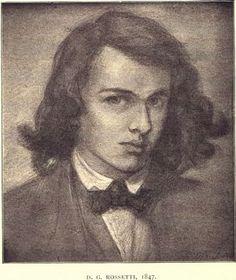 Dante Gabriel Rossetti  Self Portrait